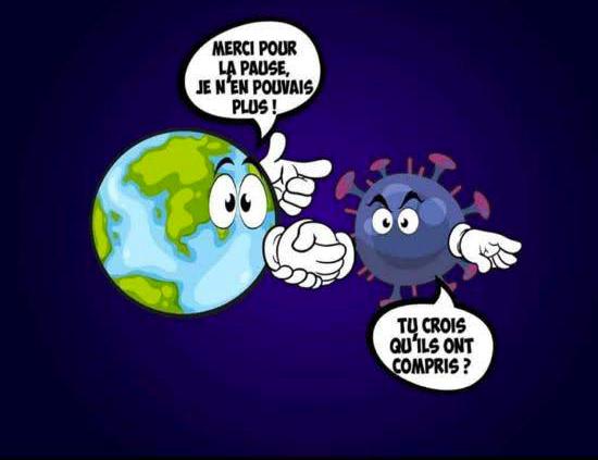 """Read more about the article """"Allô les terriens"""", Nous sommes en guerre ! (et la planète s'épanouit…)"""